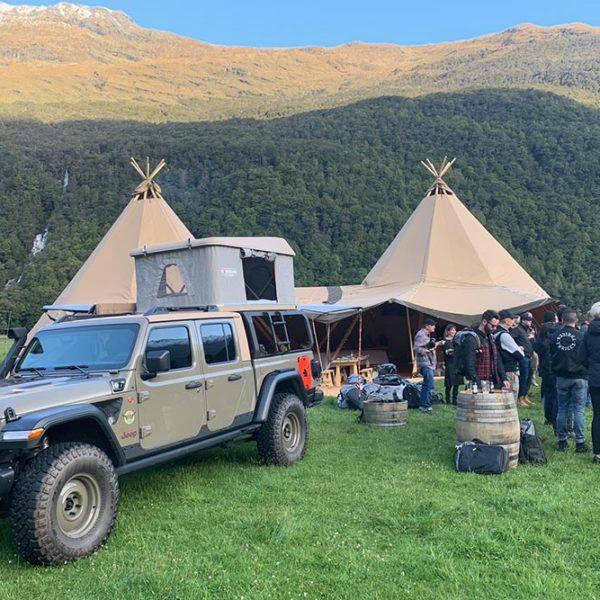 jeep trip base camp
